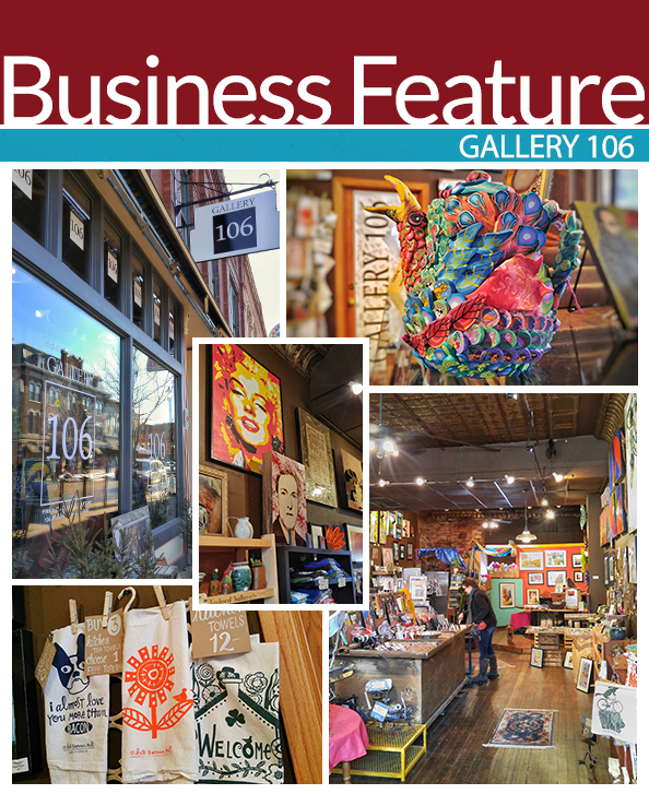 Gallery 106 Business Feature