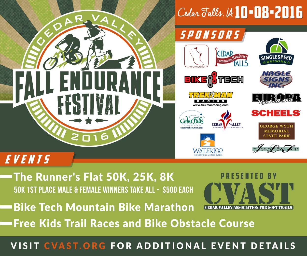 Cedar Valley Endurance Festival