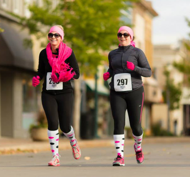 Run for a Cause During the 10th Annual Pink Ribbon Run!