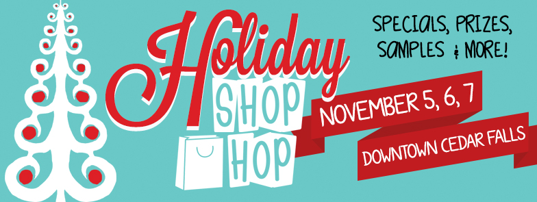 Holiday Shop Hop Graphic