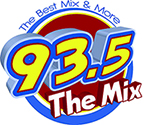 93.5 The Mix Logo